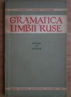 M. Popescu - Gramatica limbii ruse pentru uz scolar