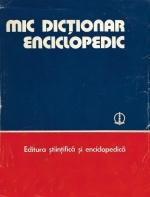 Mic Dictionar Enciclopedic (1978)