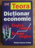 Anticariat: Nicolae Ionescu-Crutan - Dictionar economic englez-roman, roman-englez