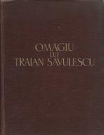 Anticariat: Omagiu lui Traian Savulescu