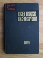 D. Faddeev - Recueil d'exercices d'algebre superieure