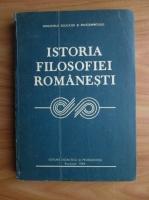 Anticariat: Gh. Al. Cazan - Istoria filosofiei romanesti