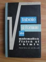 Gh. Calugarita - Tabele si formule de matematica, fizica si chimie