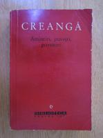 Anticariat: Ion Creanga - Amintiri, povesti, povestiri