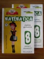 Anton Negrila - Matematica. Algebra, geometrie clasa a VIII-a (2 volume)