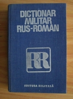 Checiches Laurentiu - Dictionar militar rus-roman