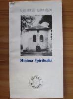 Anticariat: Florin Mihaescu - Minima Spiritualia