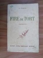 Anticariat: George Cosbuc - Fire de tort (1944)