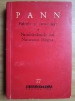 Anton Pann - Fabule si istorioare. Nazdravaniile lui Nastratin Hogea