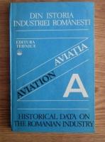 Anticariat: Constantin C. Gheorghiu - Din istoria industriei romanesti. Aviatia