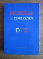 Anticariat: David Macey - Dictionar de teorie critica