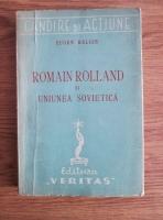 Anticariat: Eugen Relgis - Romain Rolland si Uniunea Sovietica