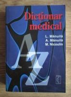 Anticariat: L. Manuila - Dictionar medical