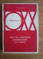 Anticariat: Stefan Barsanescu - Unitatea pedagogiei contemporane ca stiinta
