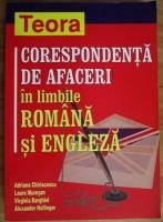 Adriana Chiriacescu - Corespondenta de afaceri in limbile romana si engleza