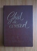 Anticariat: Eugen Pricope - Ghid de concert