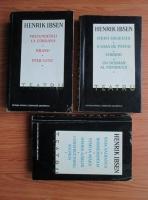 Anticariat: Henrik Ibsen - Teatru (3 volume)