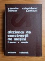 S. Enache - Dictionar de constructii de masini francez-roman
