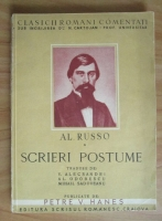 Anticariat: Alecu Russo - Scrieri postume (1943)