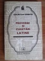 Anticariat: Proverbe si cugetari latine