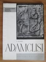 Anticariat: V. Barbu - Adamclisi