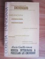 Anticariat: Alain Guillermou - Geneza interioara a poeziilor lui Eminescu
