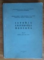 Dumitru Almas - Istoria universala moderna (volumul 2)