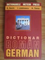 E. Savin - Dictionar roman-german