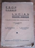 Esop - Fabule. Lucian, Dialogii mortilor (1935)