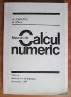 Gh. Dodescu - Metode de calcul numeric