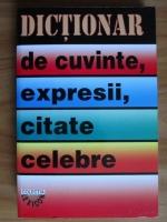 Anticariat: I. Berg - Dictionar de cuvinte, expresii, citate celebre