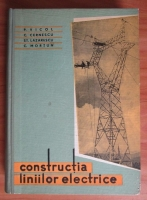 P. Vicol - Constructia liniilor electrice