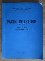 Pagini de istorie. Culegere de texte istoria romanilor (volumul 3)