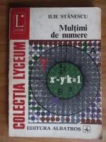 Anticariat: Ilie Stanescu - Multimi de numere