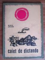 Maria Arsene - Caiet de dictando (1966)