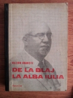 Anticariat: Valeriu Braniste - De la Blaj la Alba Iulia. Articole politice