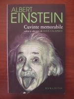 Anticariat: Albert Einstein - Cuvinte memorabile