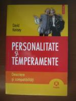 David Keirsey - Personalitate si temperamente. Descriere si compatibilitati