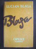 Anticariat: Lucian Blaga  - Opere, volumul 11 (Trilogia cosmologica)