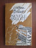 Anticariat: Mircea Eliade - Nuvele inedite
