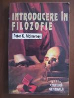 Anticariat: Peter K McInerney - Introducere in filozofie