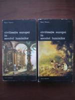Anticariat: Pierre Chaunu - Civilizatia Europei in secolul luminilor (2 volume)
