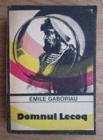 Anticariat: Emile Gaboriau - Domnul Lecoq