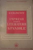 Anticariat: George Calinescu - Impresii asupra literaturii spaniole (1946)