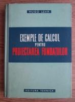 Hugo Lehr - Exemple de calcul pentru proiectarea fundatiilor