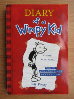 Anticariat: Jeff Kinney - Diary of a wimpy kid. A novel in cartoons
