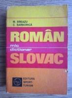 Anticariat: M. Breazu - Mic dictionar roman-slovac