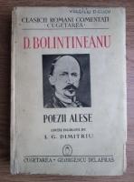 D. Bolintineanu - Poezii alese (1940)