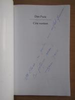 Anticariat: Dan Puric - Cine suntem (cu autograful si dedicatia autorului)