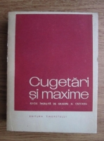 Anticariat: Grigore N. Crivianu - Cugetari si maxime